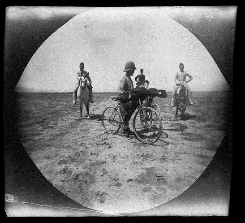 William Sachtleben in Iran, 1891 - copyright UCLA Library