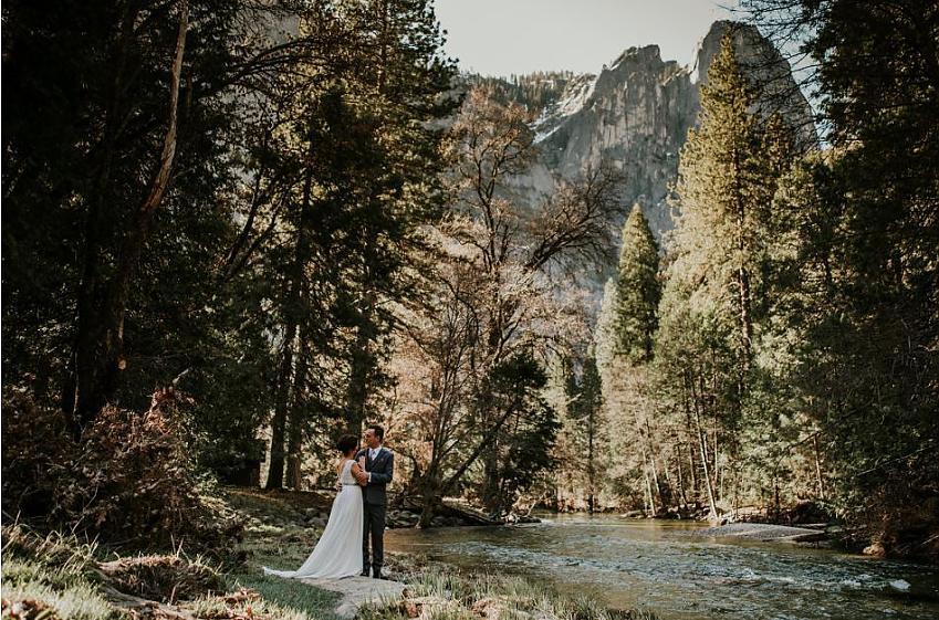 Yosemite Park Wedding