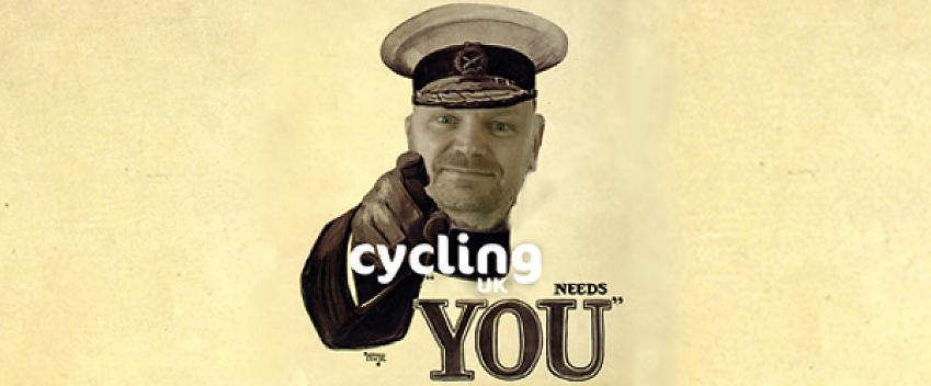Cycling UK needs you