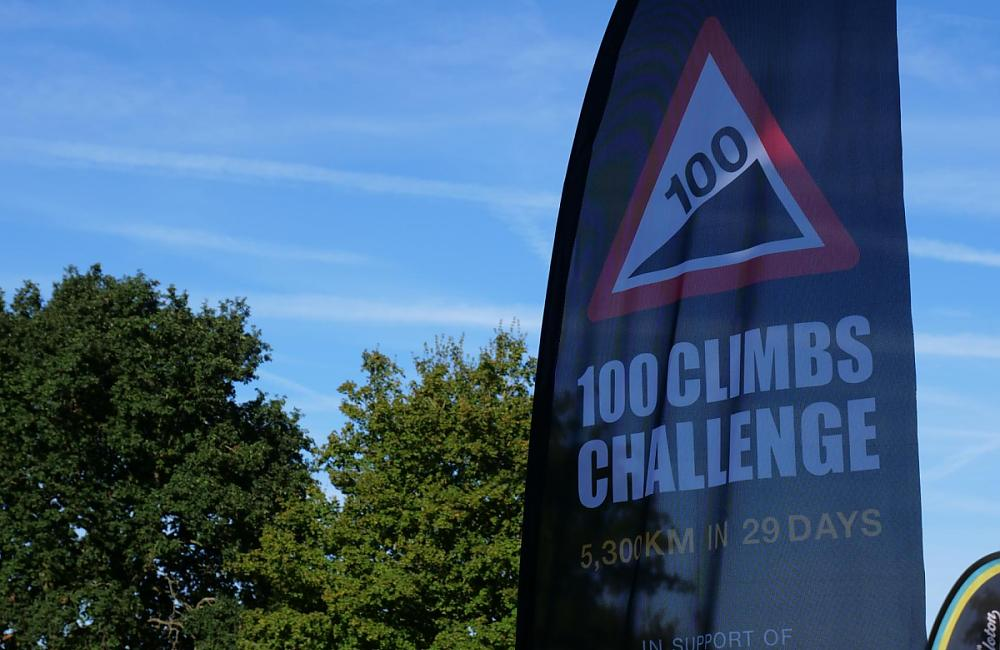 100 climbs in 29 days