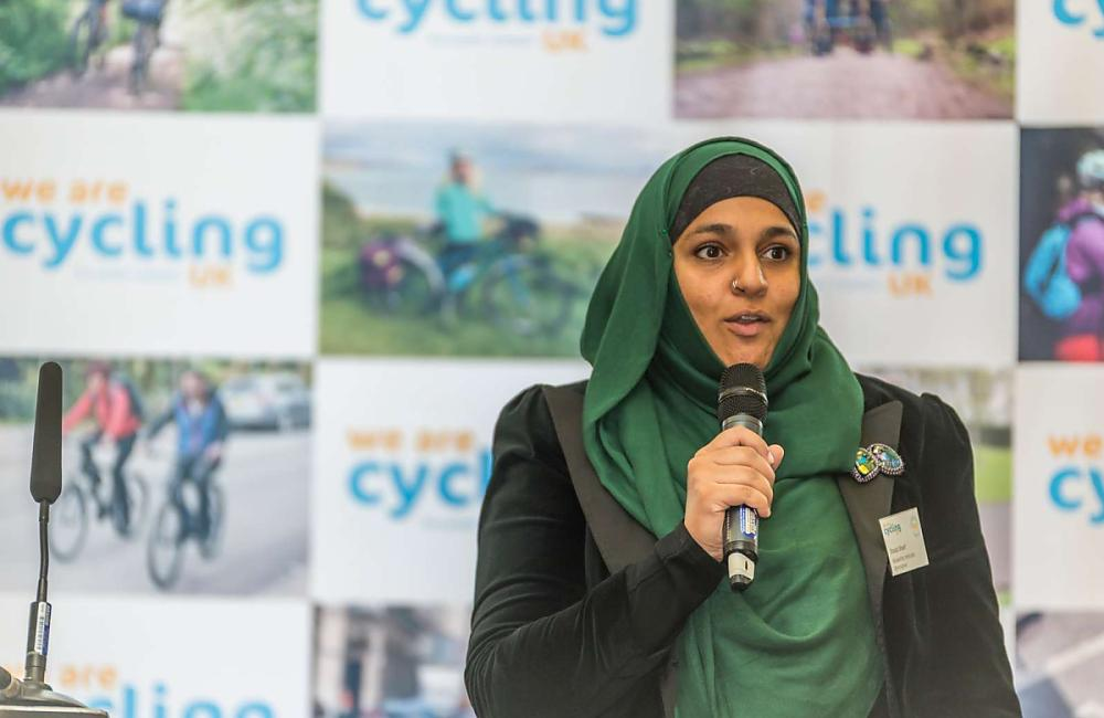 Bikeability instructor Shaila Sharif talk about her passion for cycling