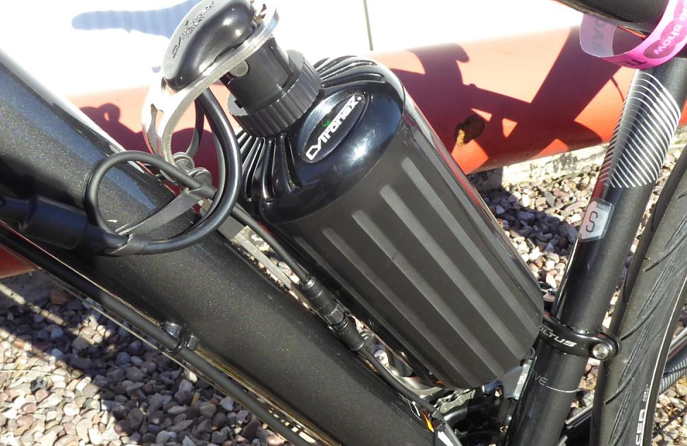 Cytronex's innovative battery bottle design