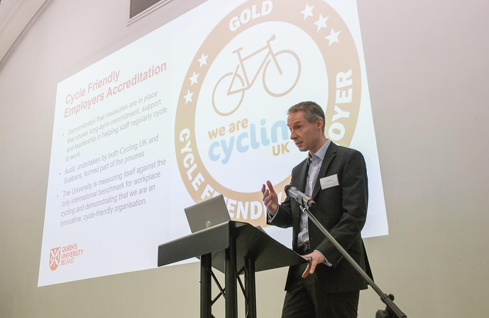 John McCann, Transport Services, Queen's University Belfast