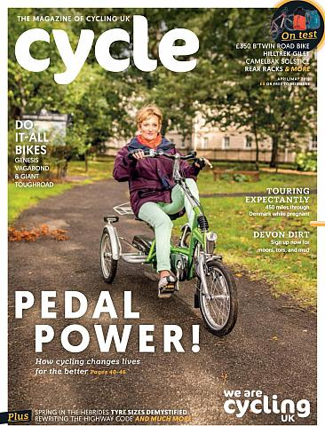Cycle magazine April/May 2019 cover