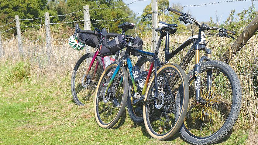 An off-road capable bike can tackle the North Downs Way. Photo Adrian Wills