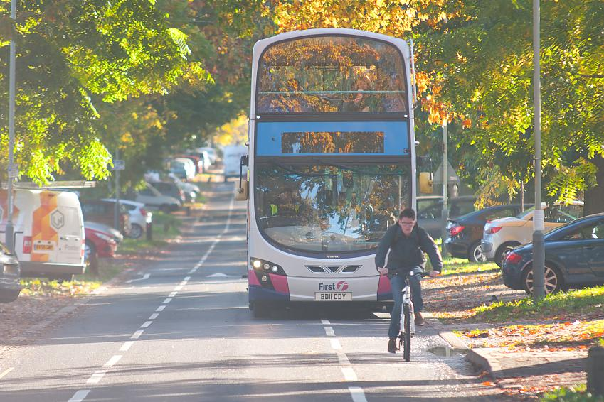 Public transport capacity is severely limited due to Covid-19