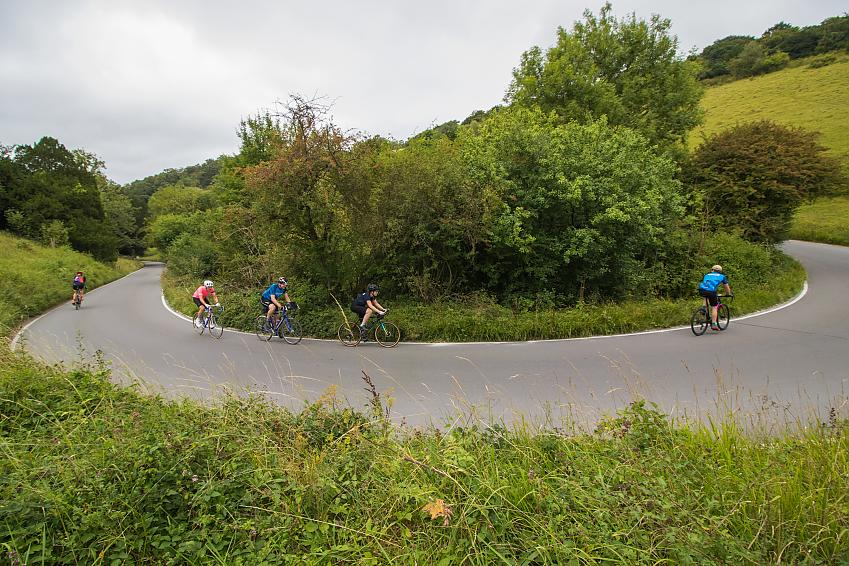 Country roads like these often have speed limits of 60mph, despite being narrow and winding