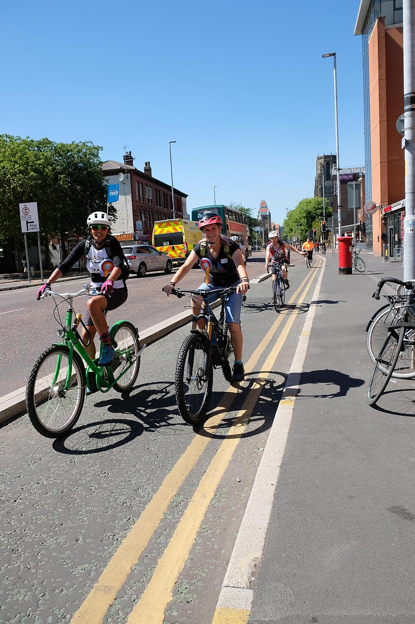 Protected cycle networks are key to getting more people cycling