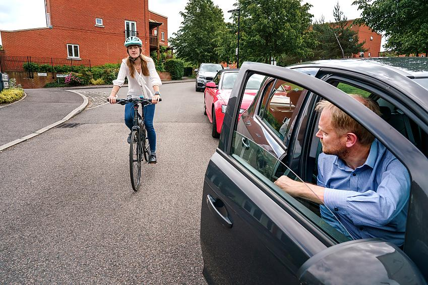 The Dutch Reach is really simple, and, if widely adopted, can make our roads safer