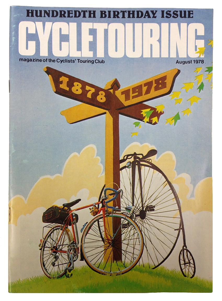 Cycletouring cover from 1978