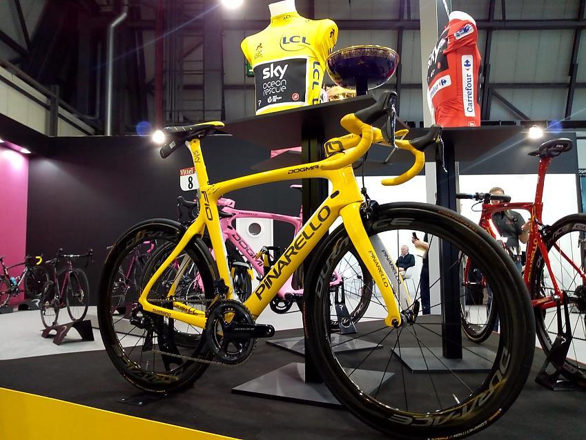 Geraint Thomas's bike