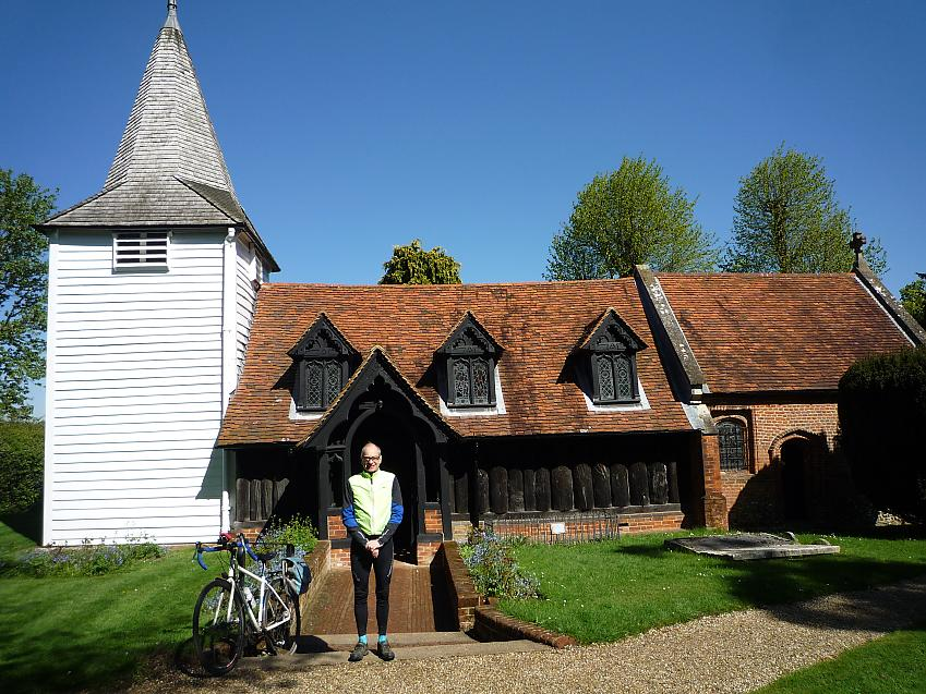 The church in Greensted, Essex