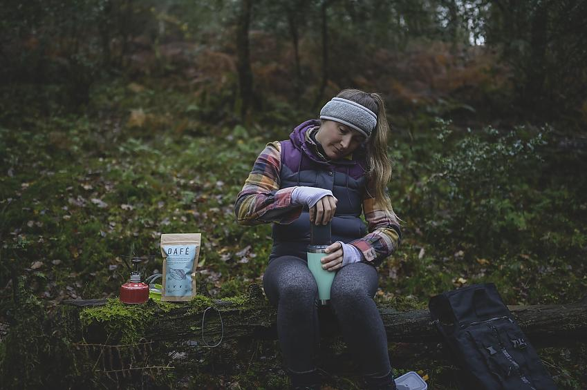 Hot drink for outdoor lovers