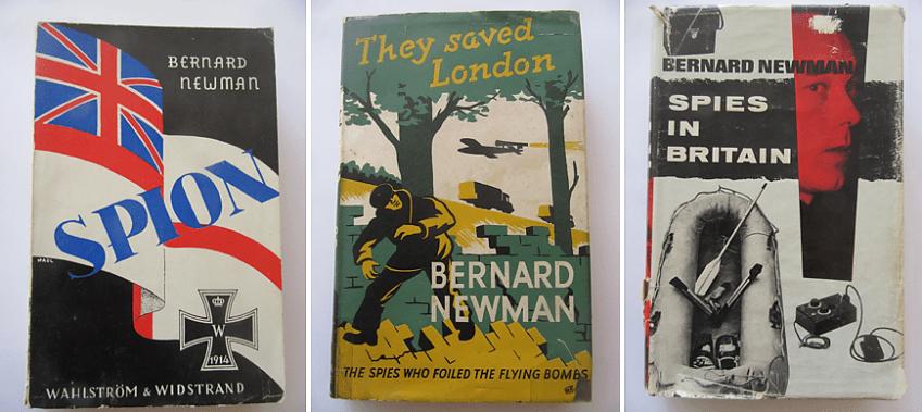 Some of Bernard Newman's spy stories