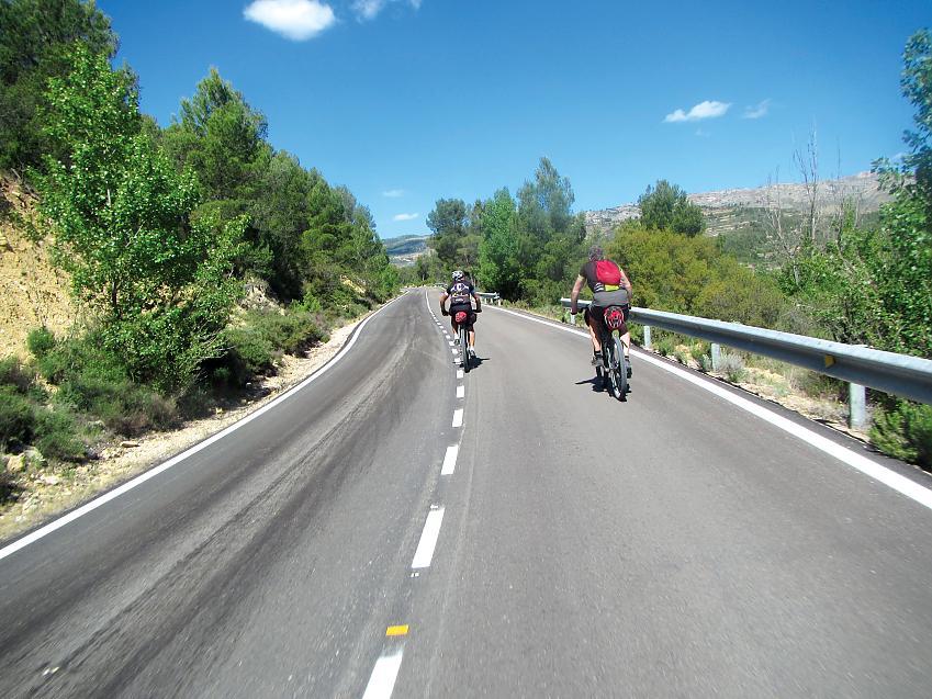 Empty sun-kissed roads