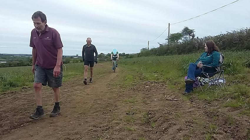 Ian completes his marathon walk for charity