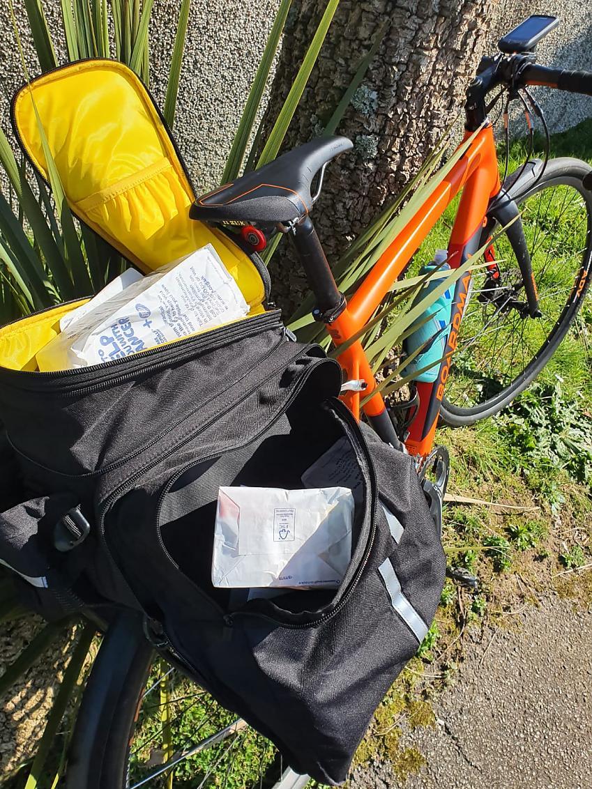 Bike with prescription.