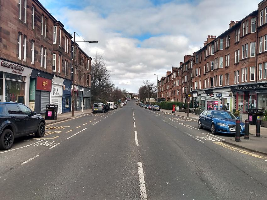 Quiet streets in Glasgow mean the city feels safer than ever on the bike