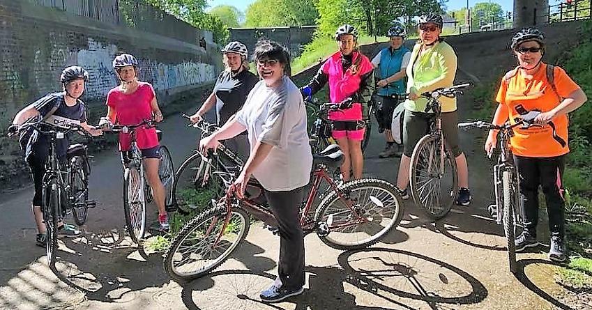 Liverpool Loopline Ladies Cycling group