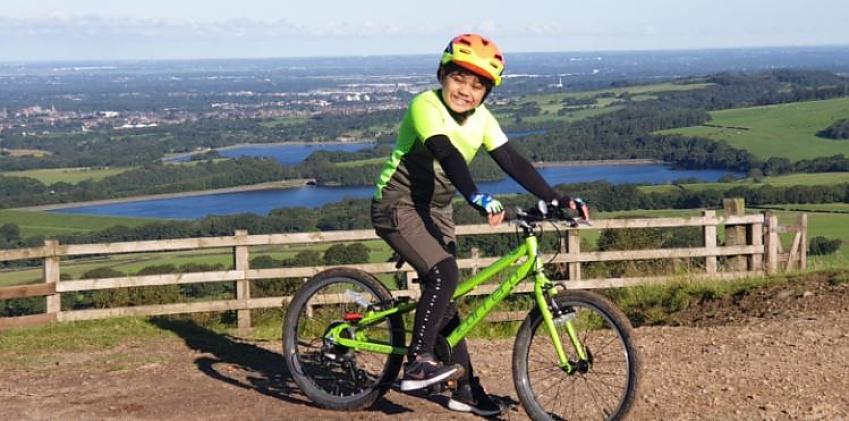 Eight-year-old Mulan Kumar, from Bolton