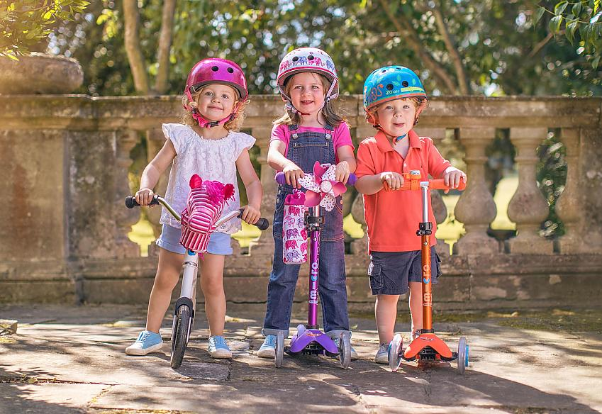 Scooters and balance bikes