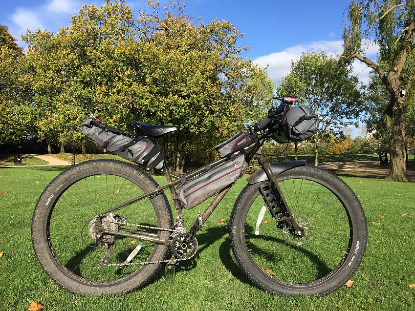 Passport full range of bikepacking gear