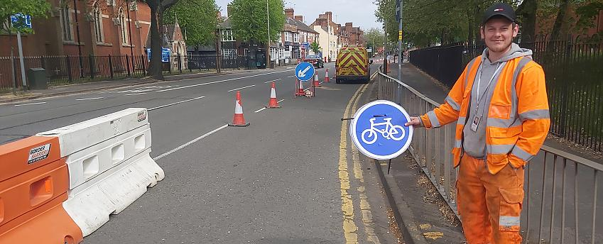 Pop-up cycle lanes have been popping up across the country