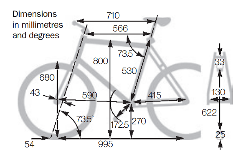 ritchey Tech Specs