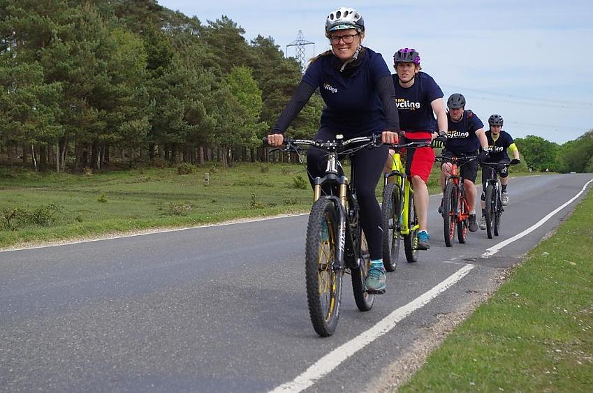 Road cycle training program