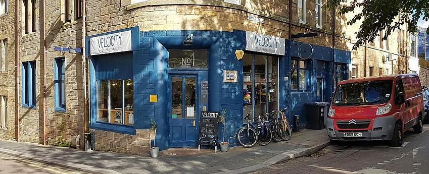 Velocity Café and Bicycle Workshop, Inverness
