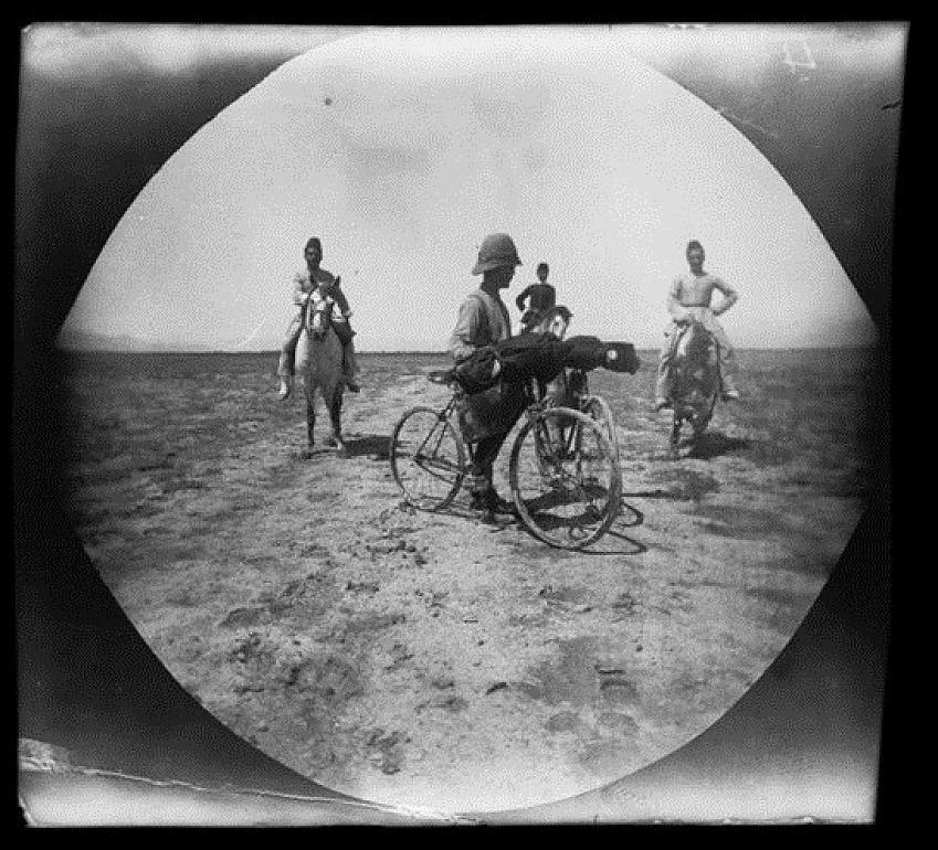 William Sachtleben in Iran, 1891 - copyright UCLA Library