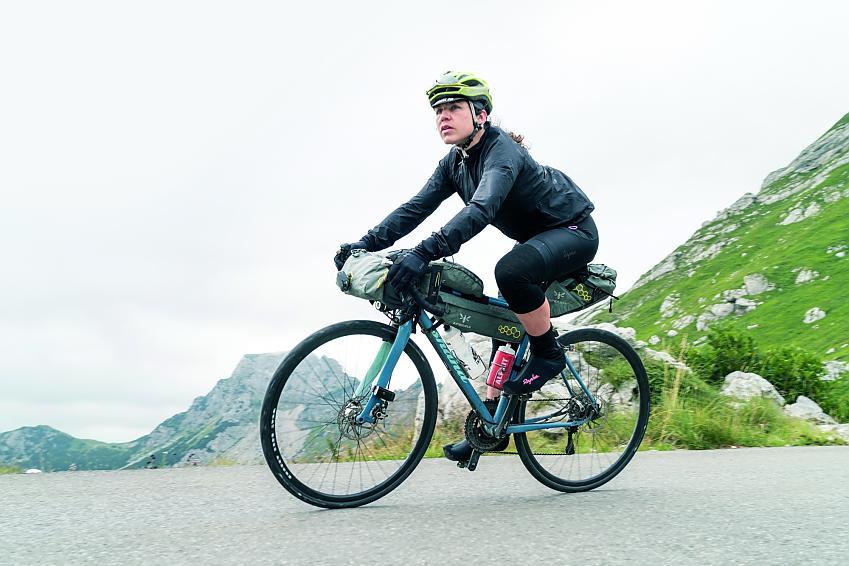Emily Chappell Bikepacking