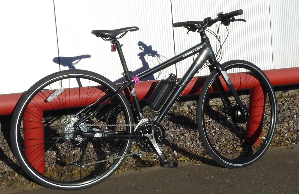 Cytronex C1 system fitted to a lightweight Cannondale