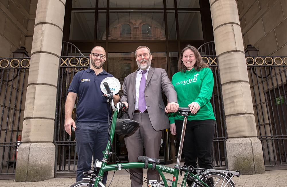 Silver accreditation awarded to the Department for Infrastructure in the Cycle Friendly Employer scheme
