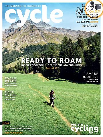 Cycle magazine August/September 2019 cover