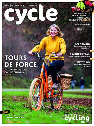 Cycle magazine February/March 2020 cover